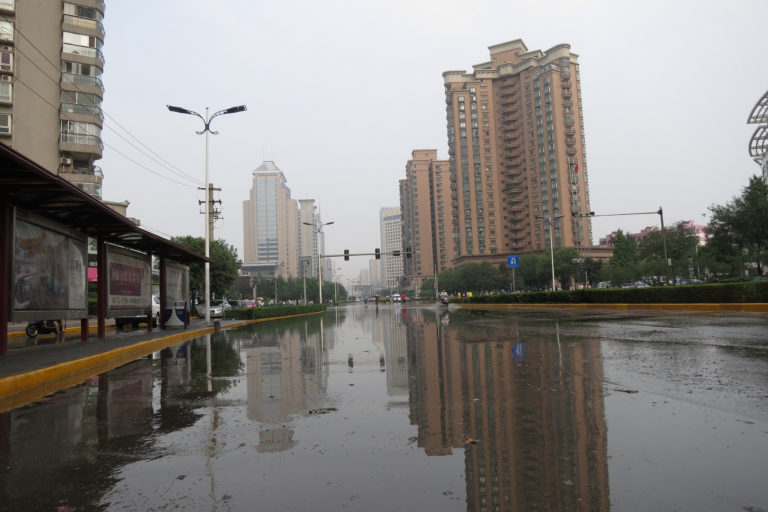 Counting the costs of floods in China