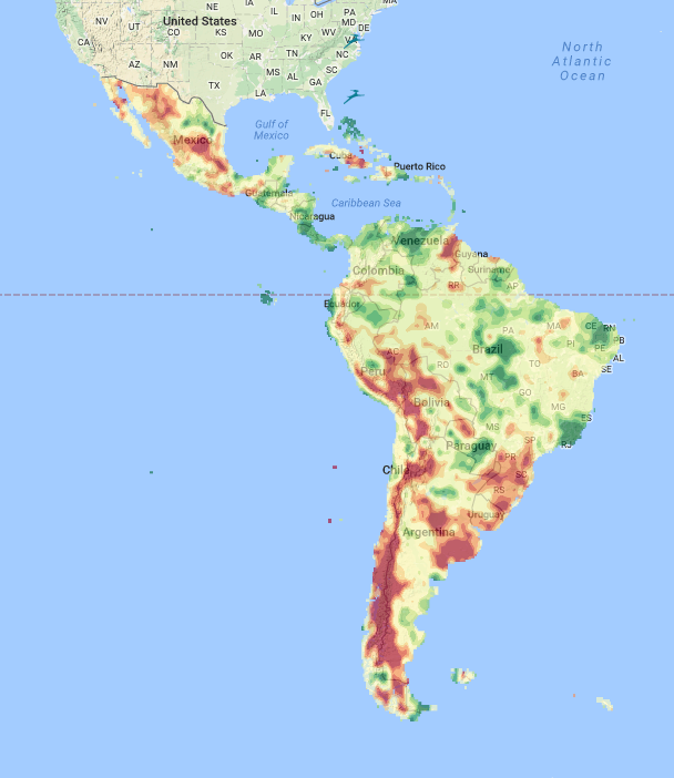 Latin American Flood and Drought Monitor