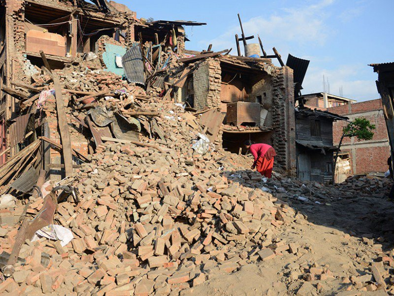 Weak Shaking Lessened Nepal Earthquake Impact
